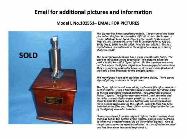 Lighters For Sale | Midland Cigar Lighter
