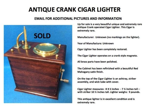 Crank Lighter