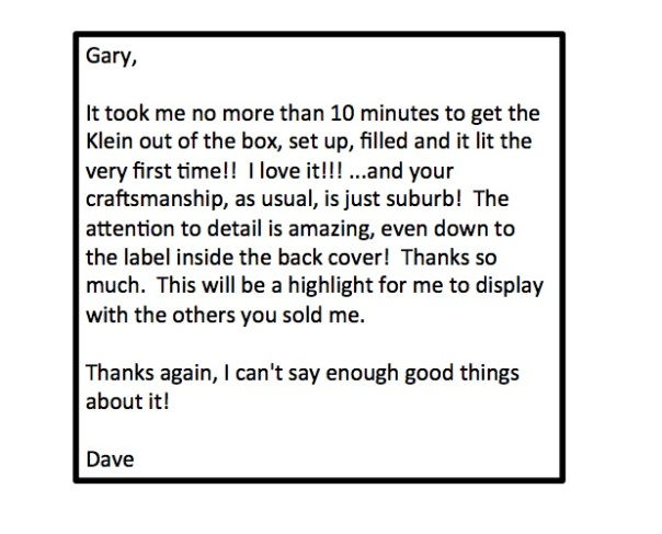 Dave comments