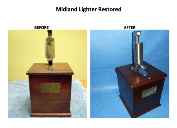 Lighter before and after No 9