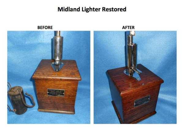 Restored Jeff lighter