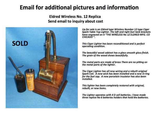 Sold Replica brass