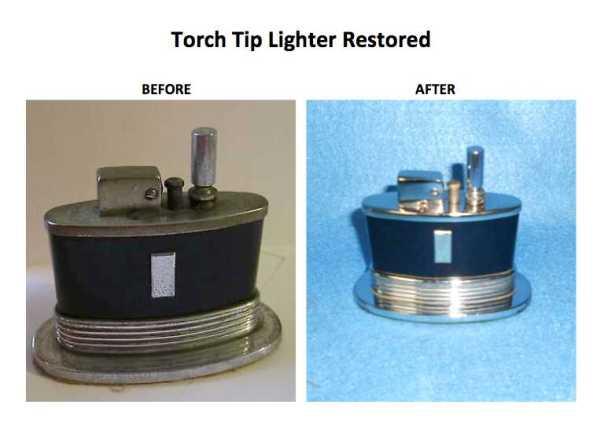 Torch tip restored