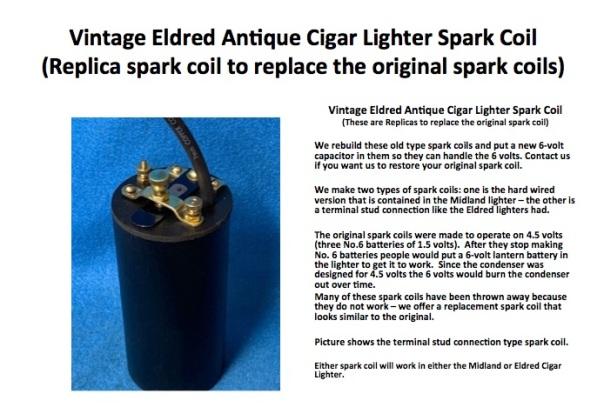 eldred spark coil
