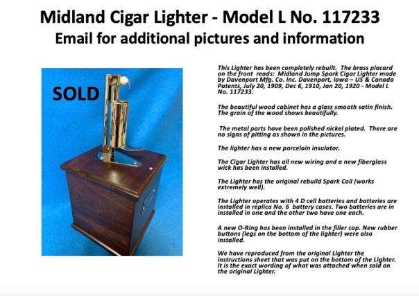 Midland 117233 sold