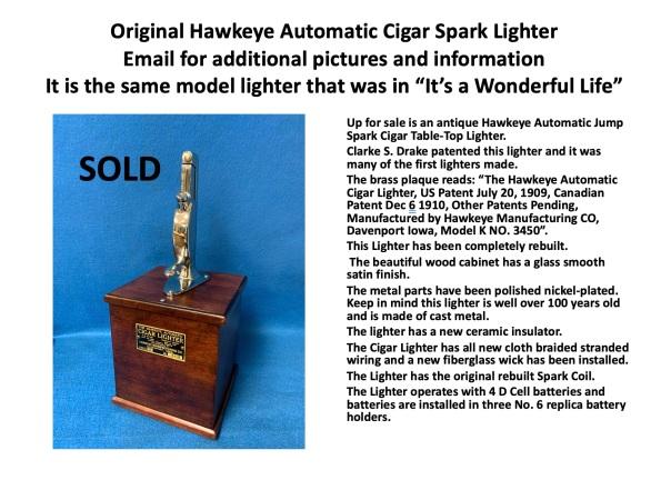 Hawkeye sold
