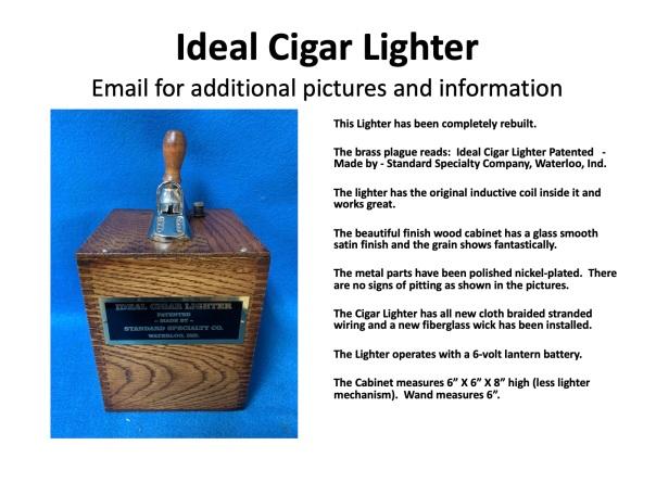 IDEAL CIGAR LIGHTER