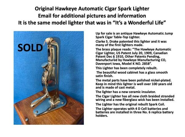 Sold Hawkeye